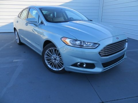 Ice Storm 2014 Ford Fusion Hybrid SE