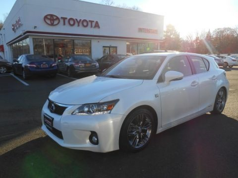 Starfire White Pearl 2012 Lexus CT F Sport Special Edition Hybrid