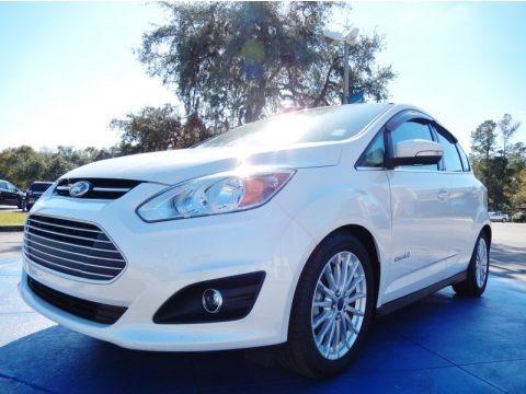 White Platinum 2013 Ford C-Max Hybrid SEL