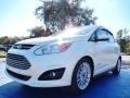 Ford C-Max Hybrid SEL White Platinum photo #1
