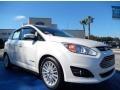 Ford C-Max Hybrid SEL White Platinum photo #7
