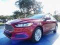 Ford Fusion Hybrid S Ruby Red photo #1