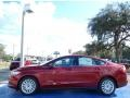 Ford Fusion Hybrid S Ruby Red photo #2