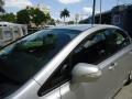 Honda Civic Hybrid Sedan Alabaster Silver Metallic photo #37