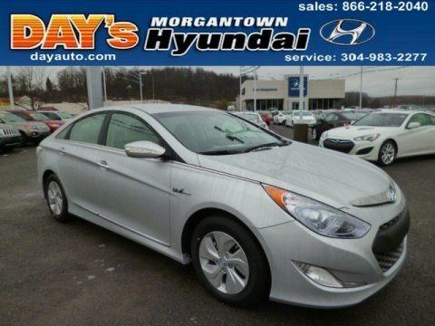 Silver Frost Metallic 2013 Hyundai Sonata Hybrid Limited