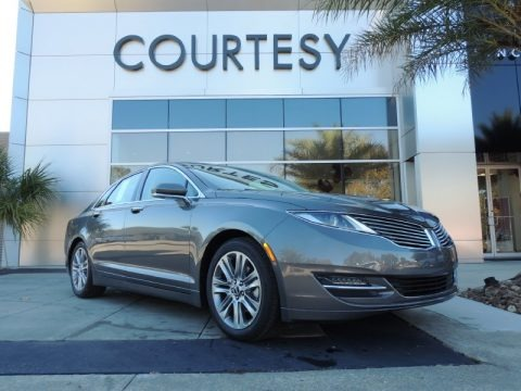 Sterling Gray 2014 Lincoln MKZ Hybrid