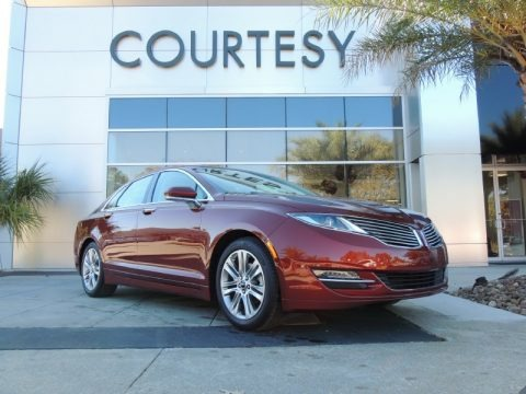 Sunset 2014 Lincoln MKZ Hybrid