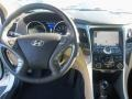 Hyundai Sonata Hybrid Limited Porcelain White Pearl photo #6