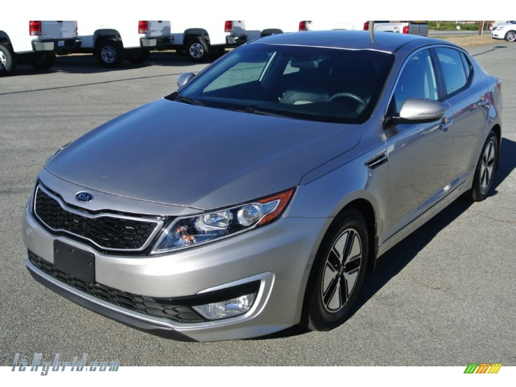 2012 Optima Hybrid - Light Graphite / Black photo #1