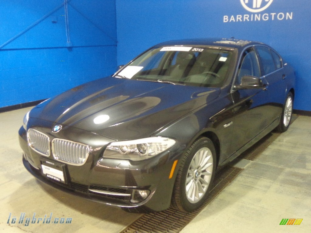Dark Graphite Metallic II / Black BMW 5 Series ActiveHybrid 5