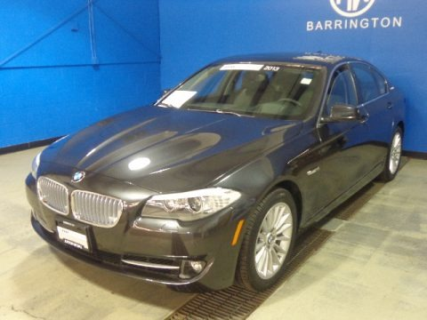 Dark Graphite Metallic II 2013 BMW 5 Series ActiveHybrid 5