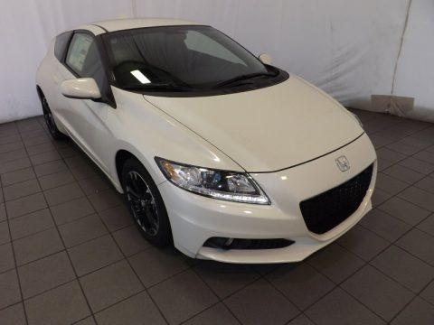 Premium White Pearl 2014 Honda CR-Z EX Navigation Hybrid