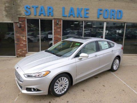 Ingot Silver 2014 Ford Fusion Hybrid SE