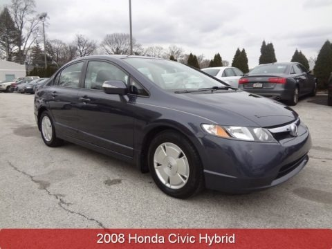 Magnetic Pearl 2008 Honda Civic Hybrid Sedan
