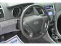 Hyundai Sonata Hybrid Hyper Silver Metallic photo #25