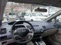 Honda Civic Hybrid Sedan Alabaster Silver Metallic photo #6