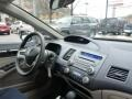 Honda Civic Hybrid Sedan Alabaster Silver Metallic photo #7