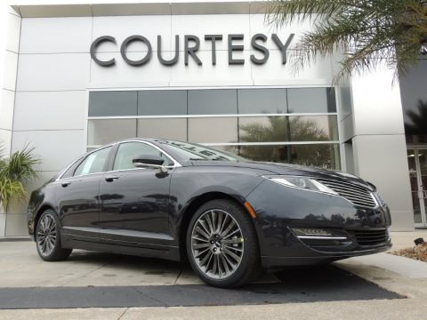 Smoked Quartz 2014 Lincoln MKZ Hybrid