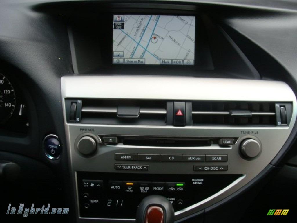 2010 RX 450h AWD Hybrid - Tungsten Silver Pearl / Black/Brown Walnut photo #23