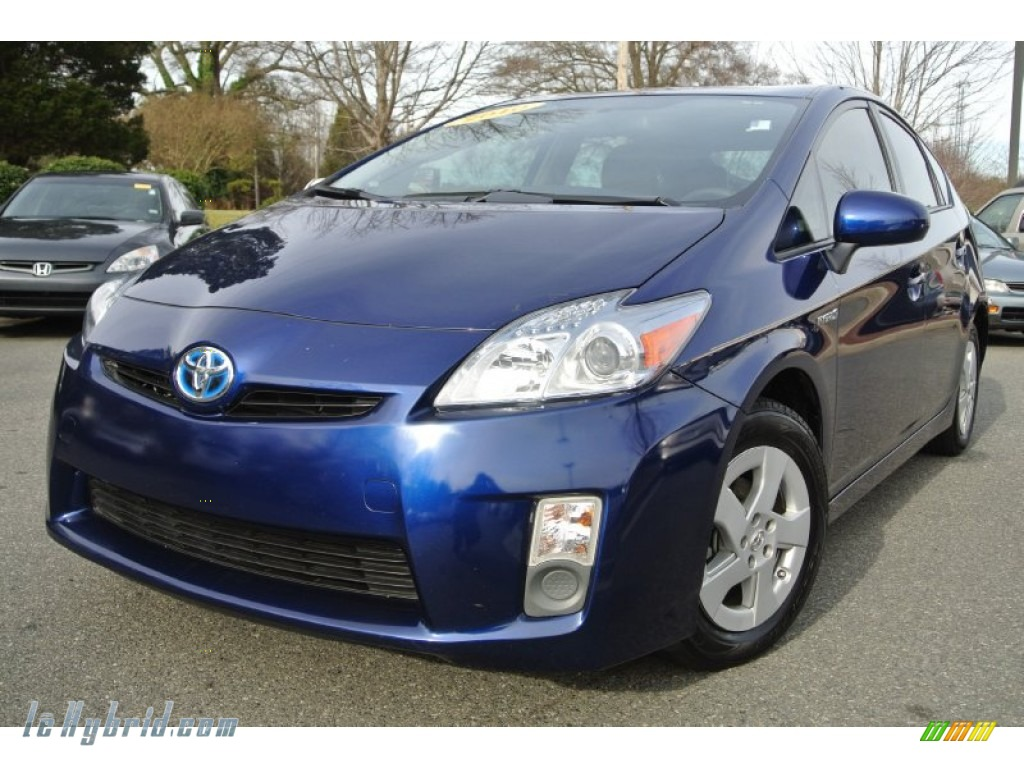2010 Prius Hybrid II - Blue Ribbon Metallic / Bisque photo #1