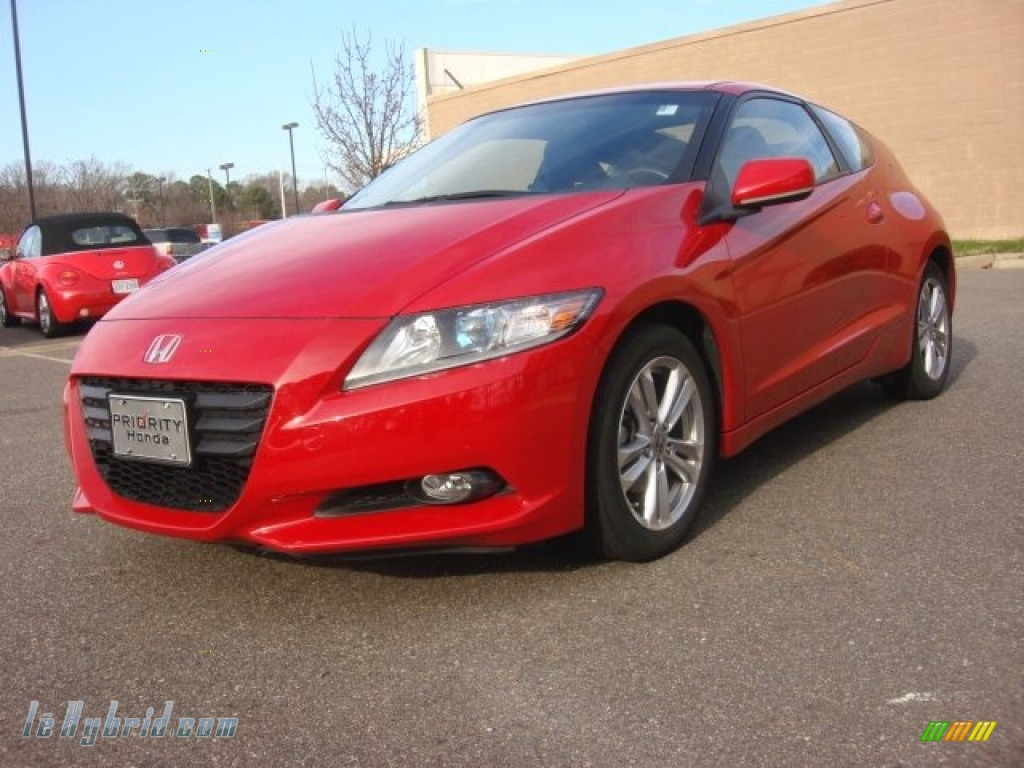 2011 CR-Z EX Navigation Sport Hybrid - Milano Red / Gray Fabric photo #1