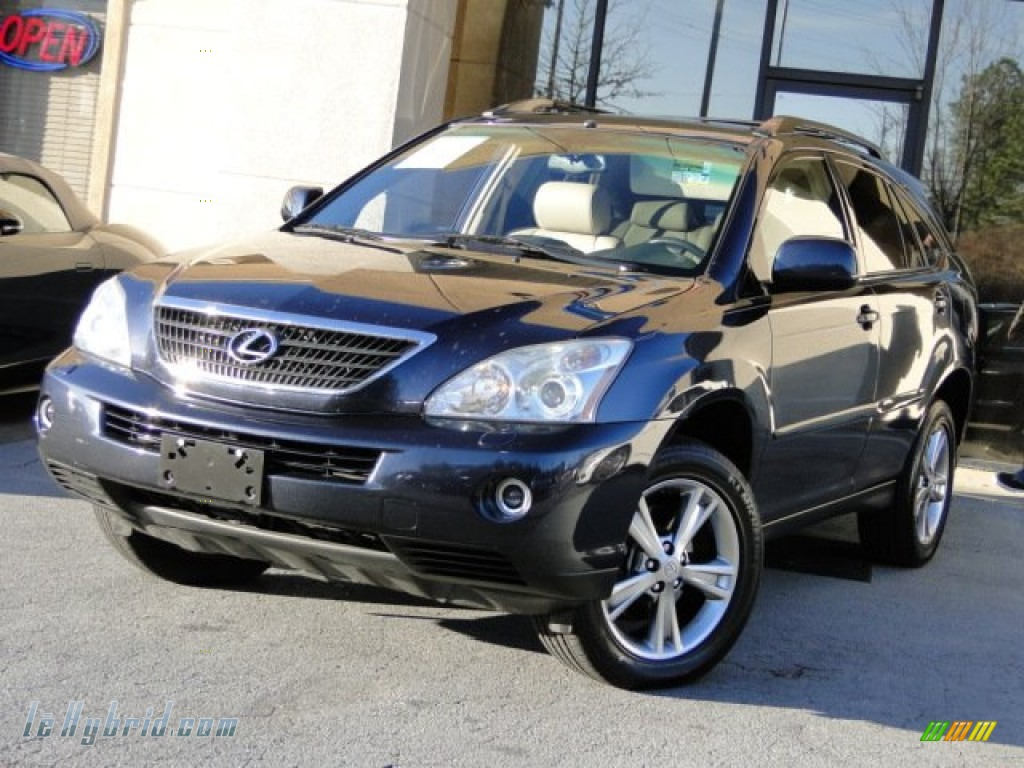 2006 lexus rx 400h awd hybrid in neptune blue mica. Black Bedroom Furniture Sets. Home Design Ideas