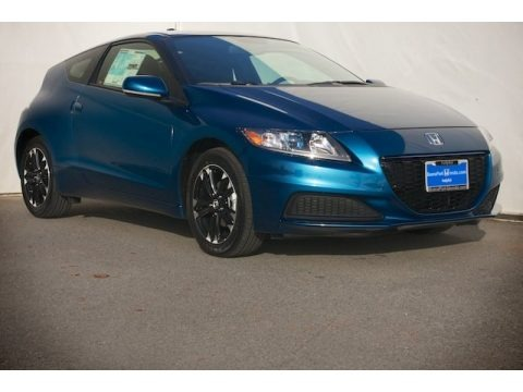 North Shore Blue Pearl 2014 Honda CR-Z Hybrid