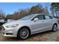 Ford Fusion Hybrid SE Ingot Silver photo #3