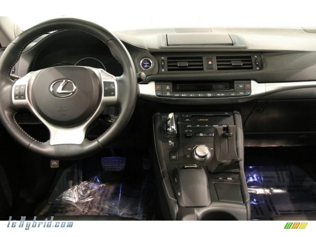 2012 CT 200h Hybrid Premium - Fire Agate Pearl / Black photo #18