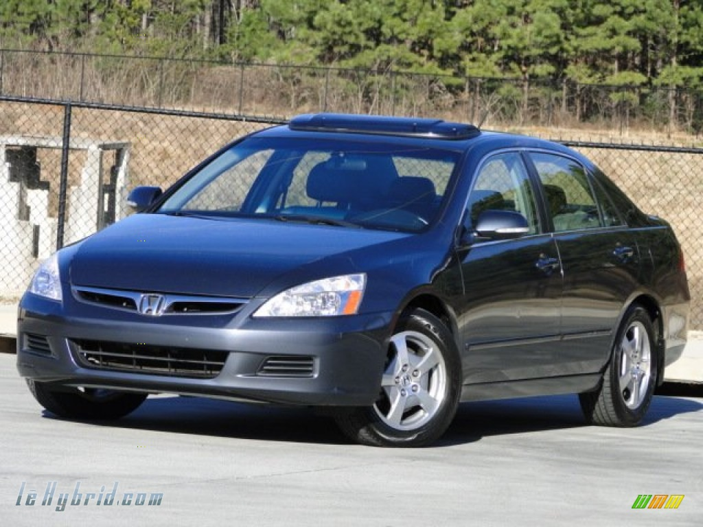 2006 Accord Hybrid Sedan - Graphite Pearl / Gray photo #1