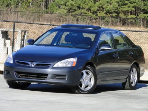 Graphite Pearl 2006 Honda Accord Hybrid Sedan