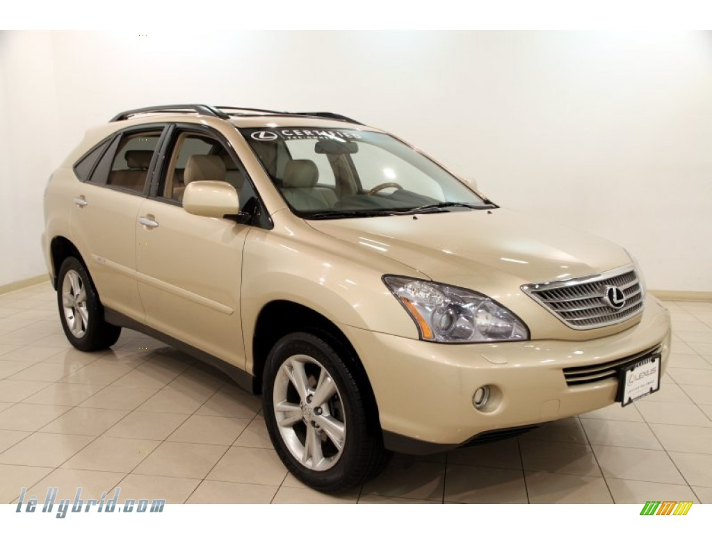 2008 RX 400h AWD Hybrid - Golden Almond Metallic / Ivory photo #1