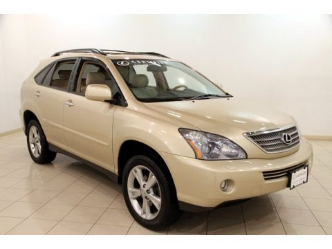 Golden Almond Metallic 2008 Lexus RX 400h AWD Hybrid