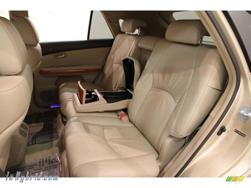 2008 RX 400h AWD Hybrid - Golden Almond Metallic / Ivory photo #22