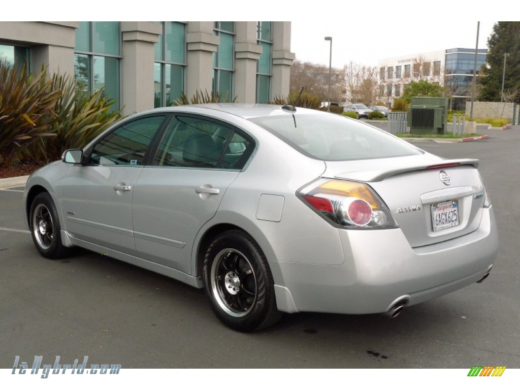 2007 Altima Hybrid - Radiant Silver Metallic / Charcoal photo #5