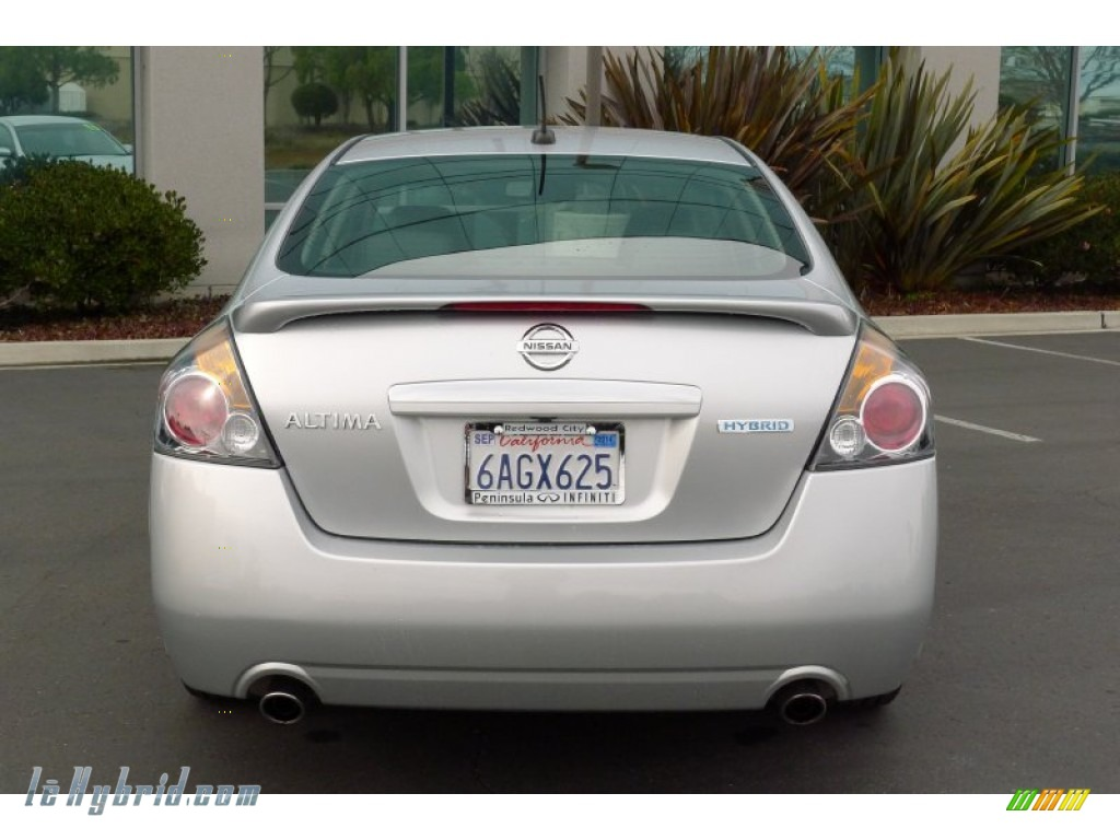 2007 Altima Hybrid - Radiant Silver Metallic / Charcoal photo #6