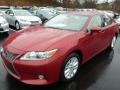 Lexus ES 300h Hybrid Matador Red Mica photo #8