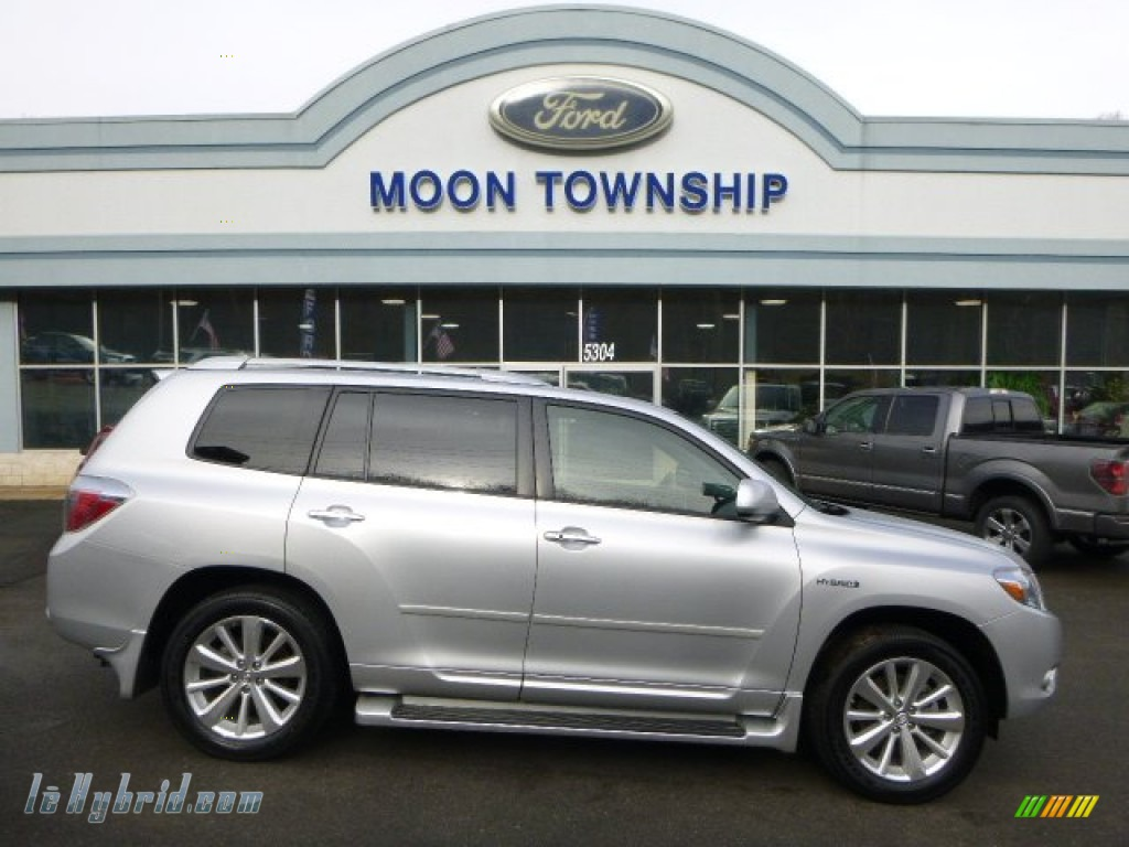 2010 Highlander Hybrid Limited 4WD - Classic Silver Metallic / Ash photo #1