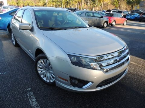 Brilliant Silver Metallic 2010 Ford Fusion Hybrid