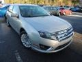 Ford Fusion Hybrid Brilliant Silver Metallic photo #1