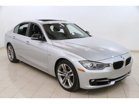 Glacier Silver Metallic 2013 BMW 3 Series ActiveHybrid 3 Sedan