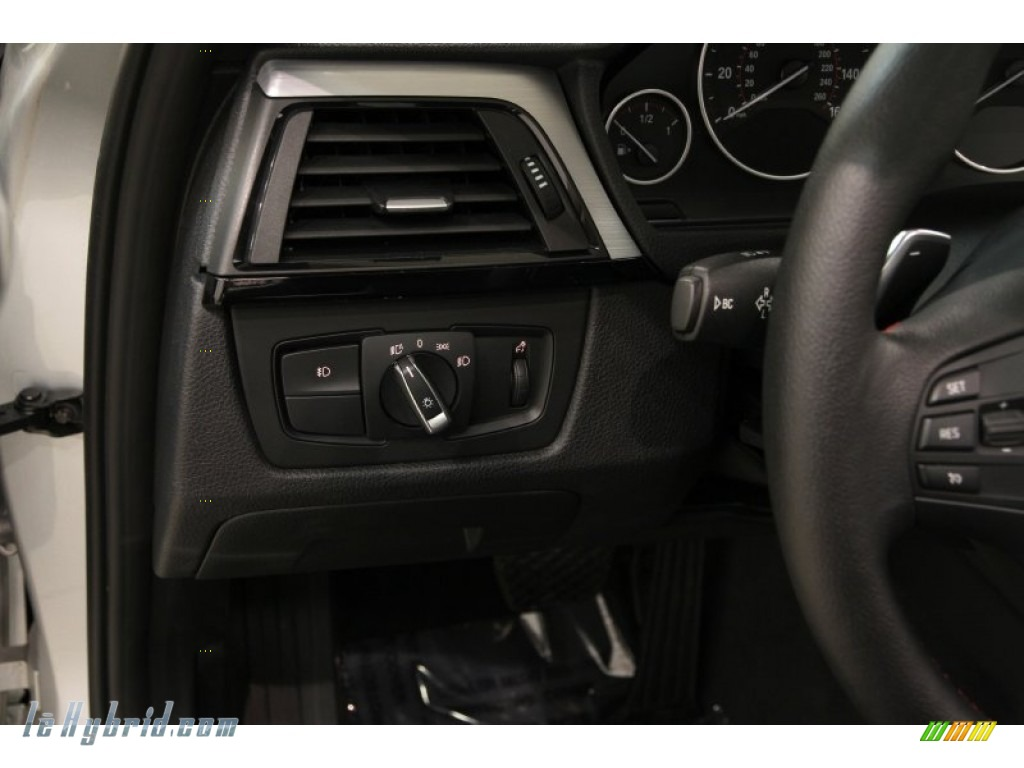 2013 3 Series ActiveHybrid 3 Sedan - Glacier Silver Metallic / Black photo #8