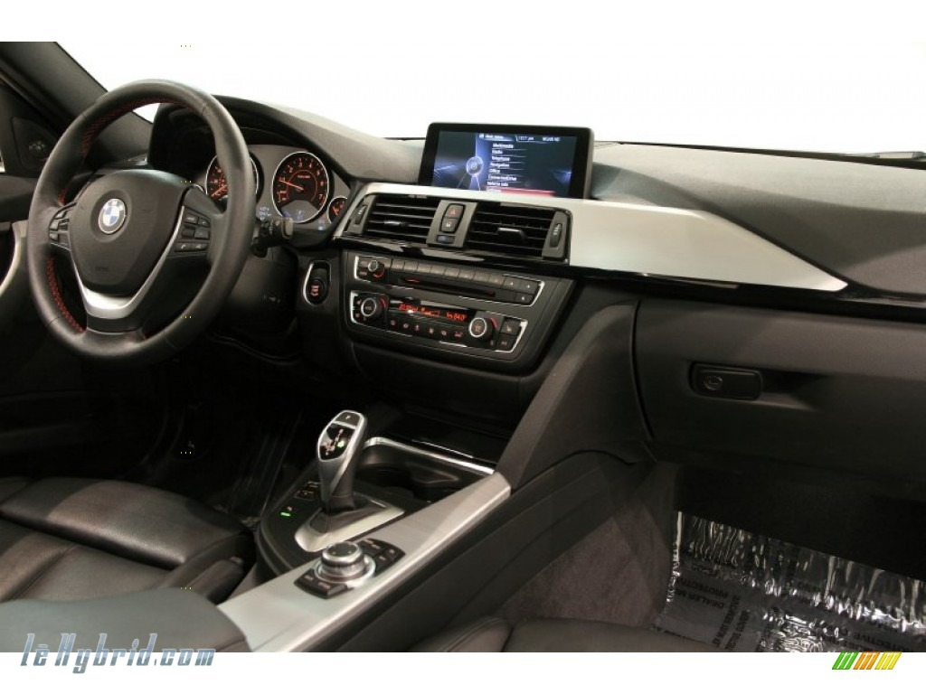 2013 3 Series ActiveHybrid 3 Sedan - Glacier Silver Metallic / Black photo #56