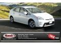 Toyota Prius Three Hybrid Blizzard White Pearl photo #1
