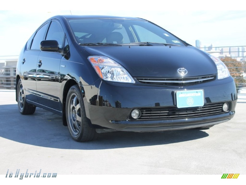 2008 Prius Hybrid Touring - Black / Gray photo #1
