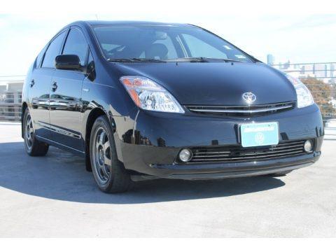 Black 2008 Toyota Prius Hybrid Touring