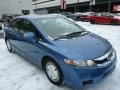 Honda Civic Hybrid Sedan Atomic Blue Metallic photo #1