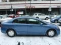 Honda Civic Hybrid Sedan Atomic Blue Metallic photo #10