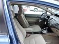 Honda Civic Hybrid Sedan Atomic Blue Metallic photo #12