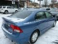 Honda Civic Hybrid Sedan Atomic Blue Metallic photo #14